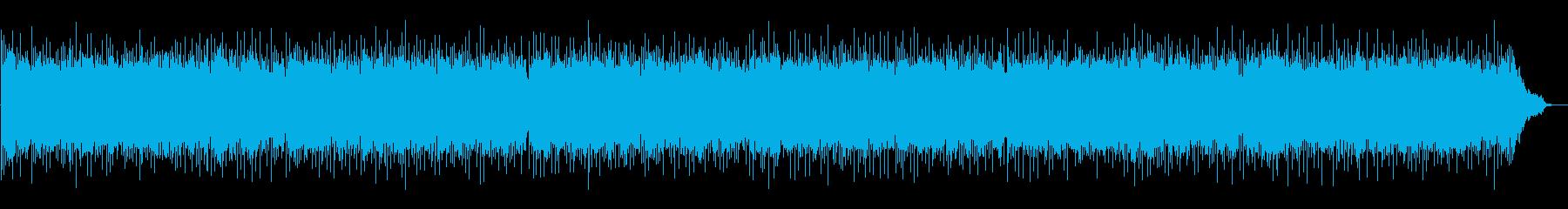 怪しい雰囲気のポップの再生済みの波形