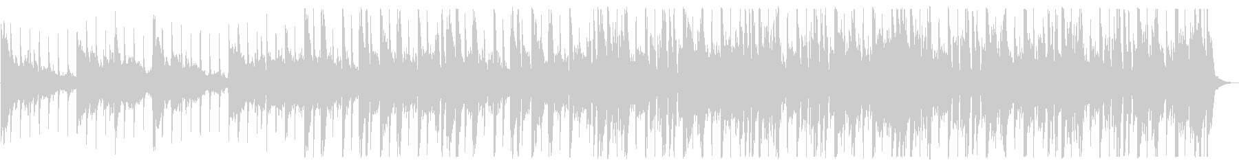 優しい雰囲気のR&B_No495_3の未再生の波形