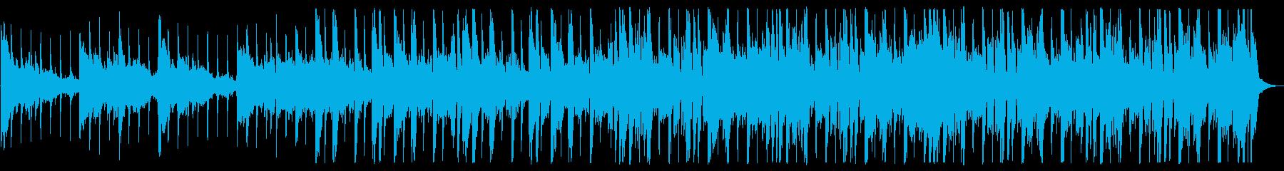 優しい雰囲気のR&B_No495_3の再生済みの波形