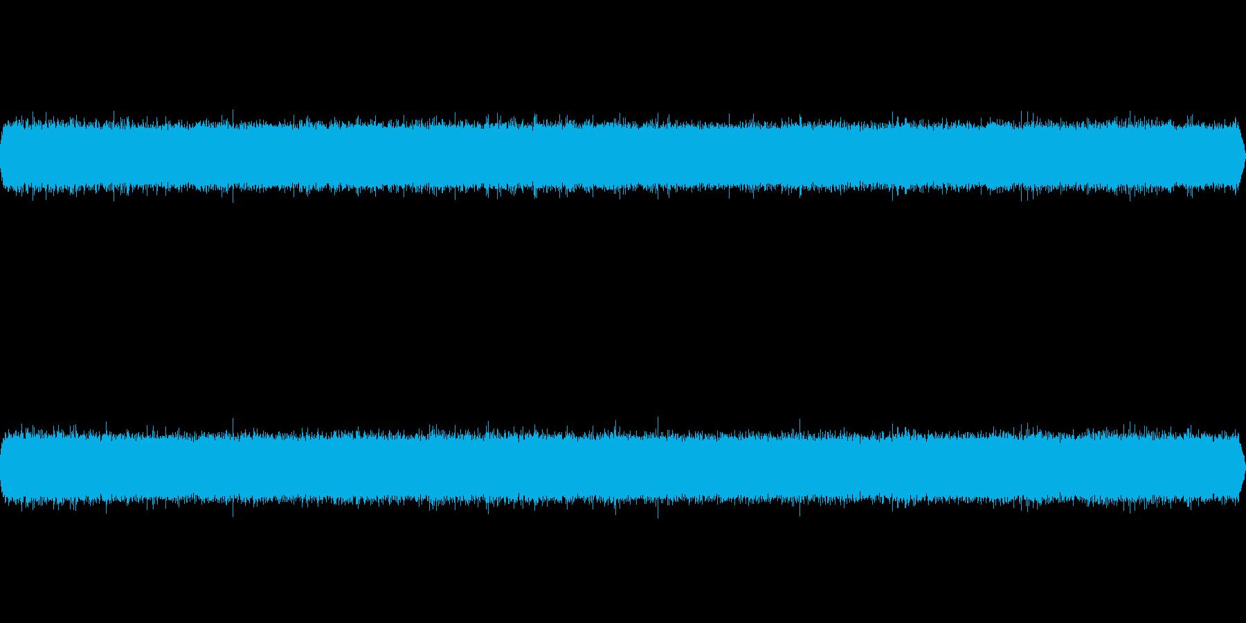 滝音~中くらいの滝 UP2【生録音】の再生済みの波形