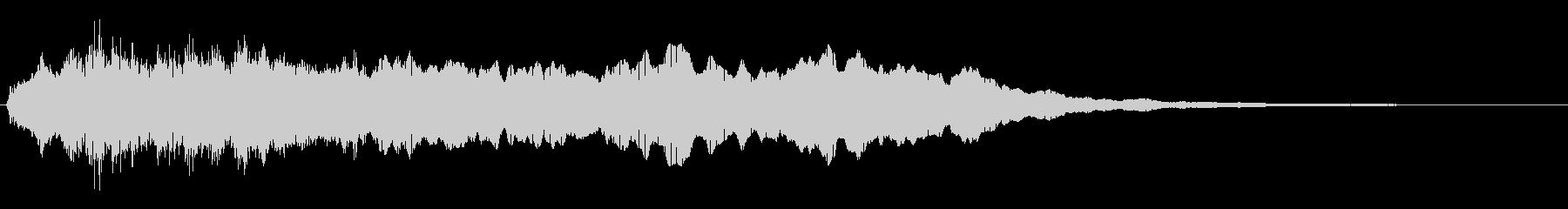 トッカータ風ジングル 02の未再生の波形