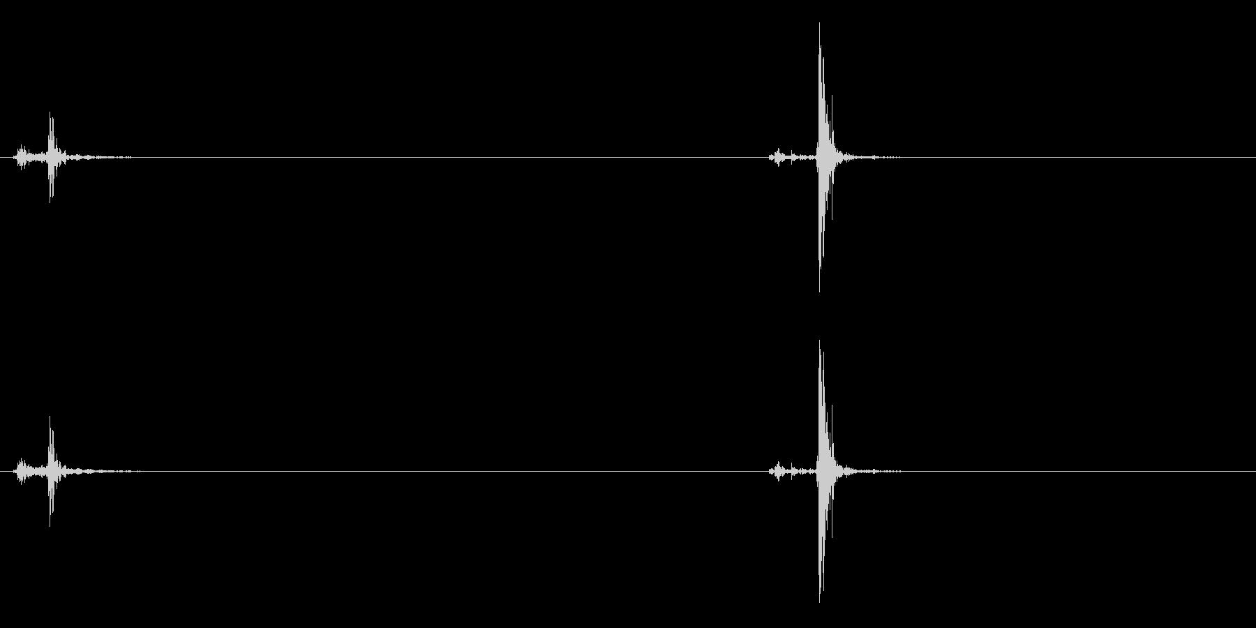 電子:合計キースロー、オフィス、計...の未再生の波形