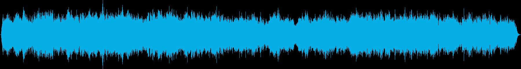 弦楽器によるレクイエム鎮魂歌の再生済みの波形