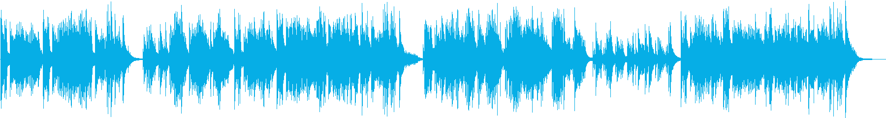 ピアノ演奏による卒業シーンの再生済みの波形