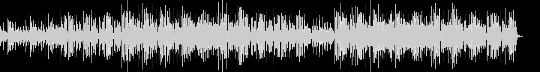 ベル系シンセの切ないリフが印象的なBGMの未再生の波形