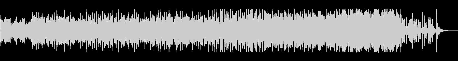 和風で日本的なオーケストラジングルの未再生の波形