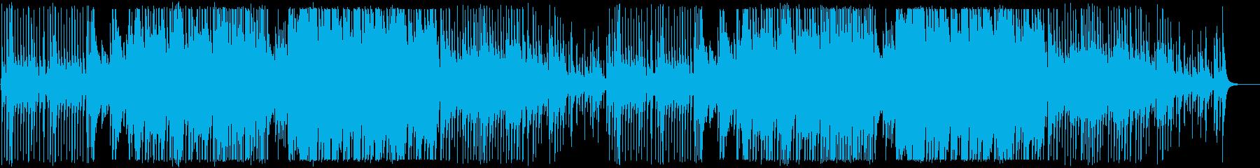 三味線と和太鼓のおしゃれでかっこいい和風の再生済みの波形