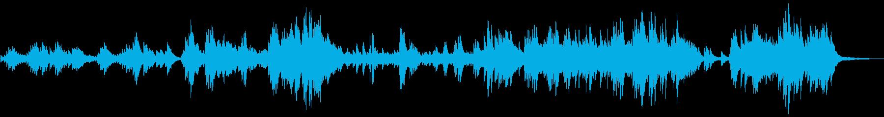 劇伴・ゲーム ノスタルジックなピアノソロの再生済みの波形