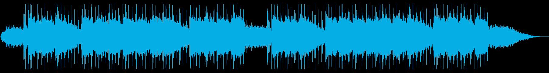 クール ローファイ 浮遊感 テクスチャーの再生済みの波形