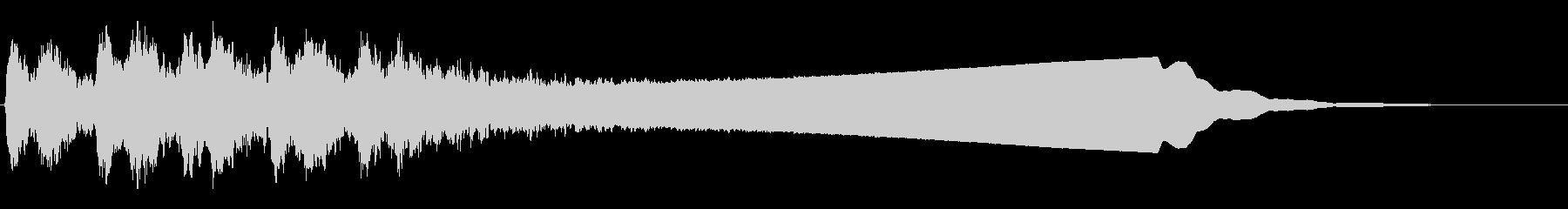 リズミックテンションワイントランジ...の未再生の波形