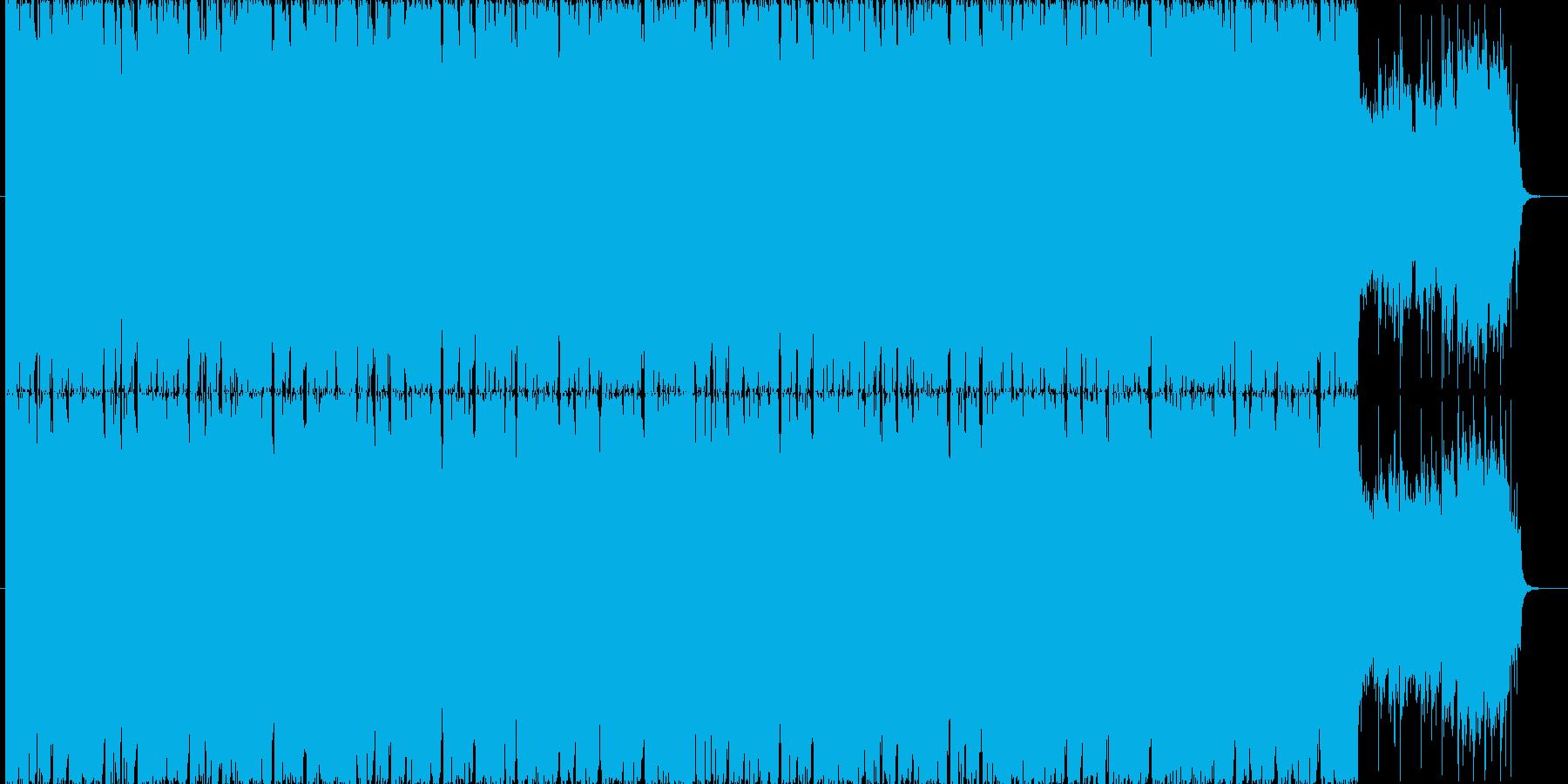 疾走感溢れるBGM(60ver)の再生済みの波形