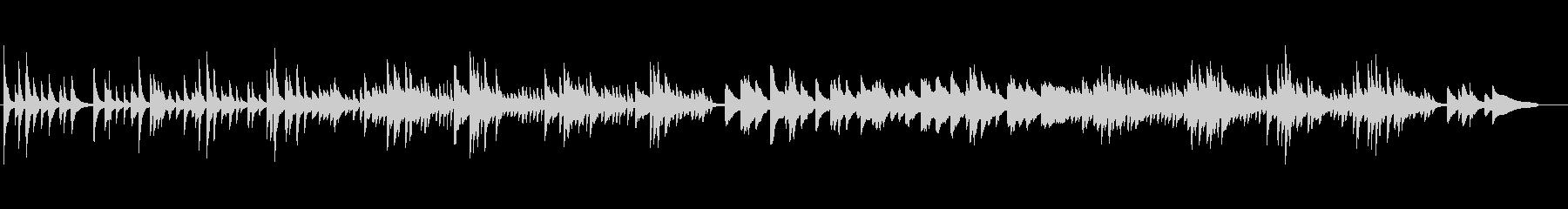 ピアノ 感動 切ない エンディング の未再生の波形