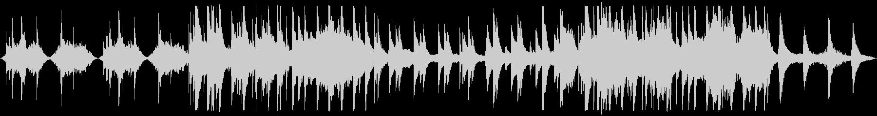 【ループ版】和風 バラード美しい琴の未再生の波形
