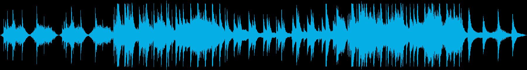 【ループ版】和風 バラード美しい琴の再生済みの波形