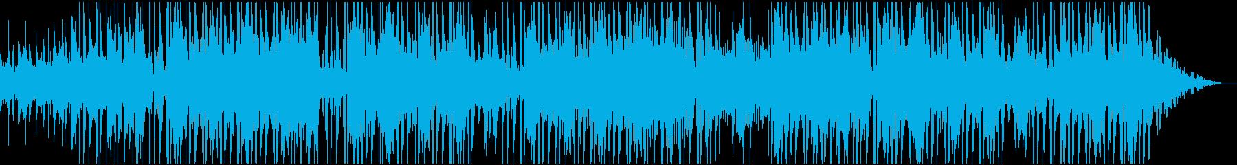 軽快なエスニック調Beatの再生済みの波形