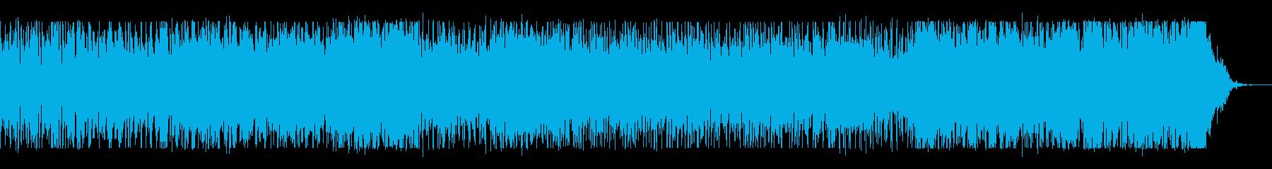 ジングルベルが最後はもろびとこぞりてにの再生済みの波形