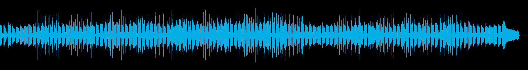 ほのぼのした癒しの日常BGMの再生済みの波形