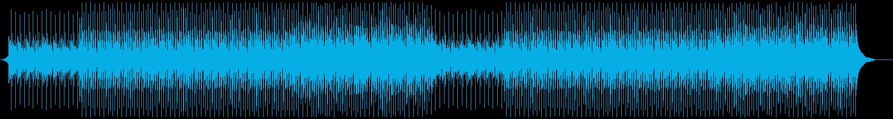 企業VPに!穏やかわくわくピアノメインの再生済みの波形
