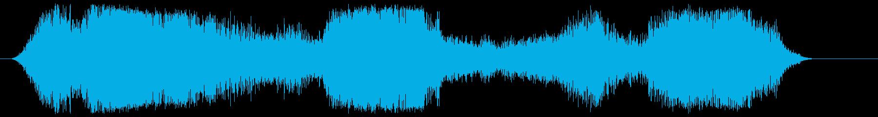 バスアンデン到着の再生済みの波形
