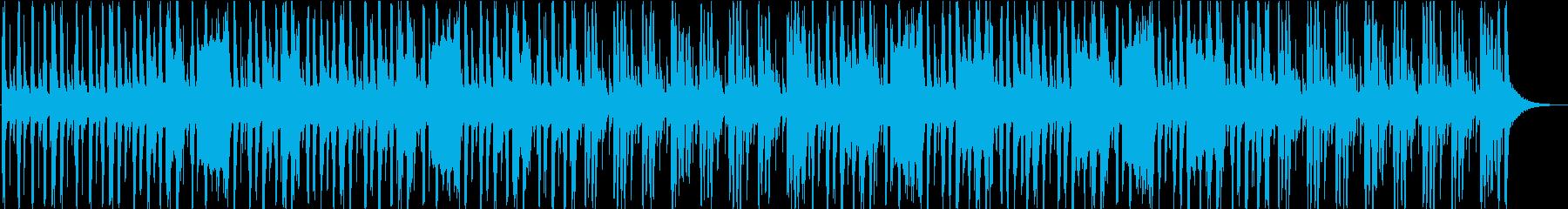 ちょっと不穏などっしりBGMの再生済みの波形