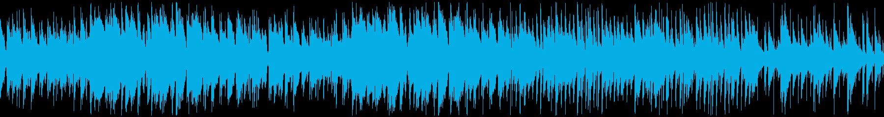 秋がテーマのトランペットのゆったりジャズの再生済みの波形