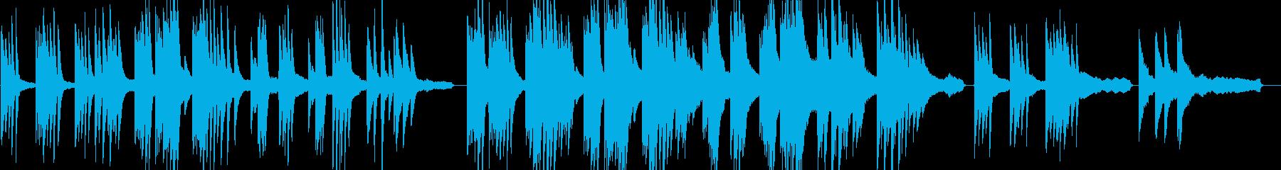 企業VP6 24bit44kHzVerの再生済みの波形