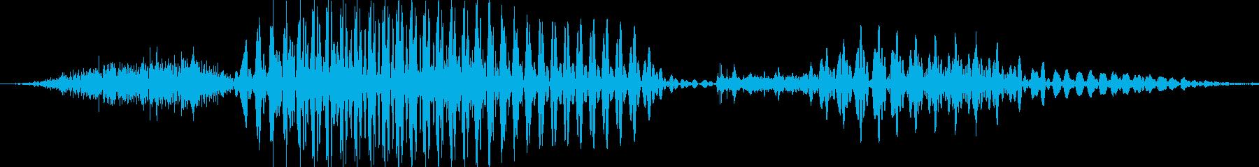 サンキューの再生済みの波形