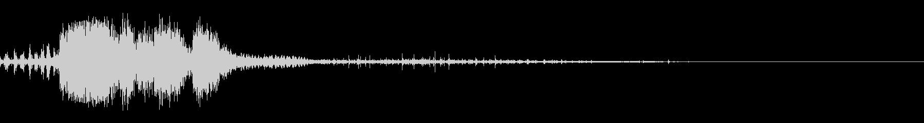 スパーク音-37の未再生の波形