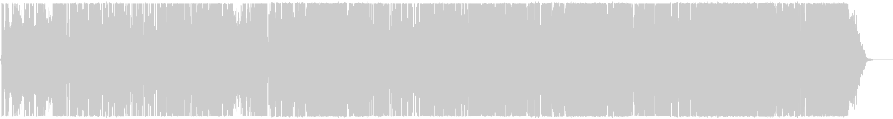 クールなエレクトロフュージョンの未再生の波形