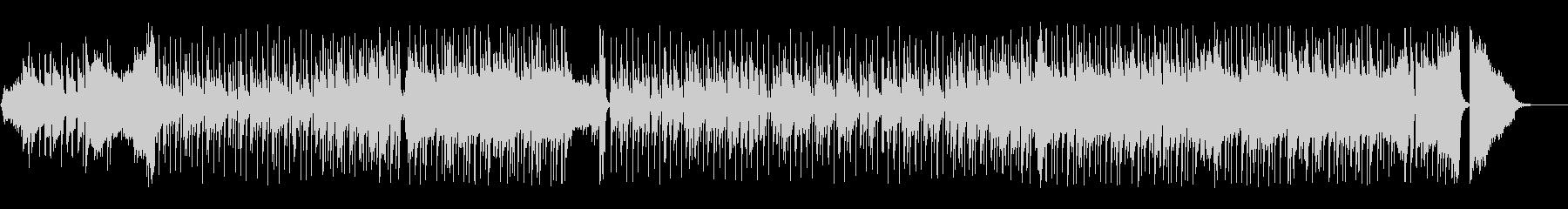 ナレーションのBGMに最適なピアノポップの未再生の波形