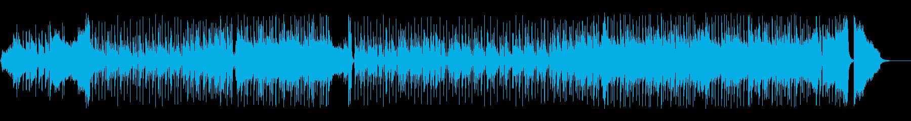 ナレーションのBGMに最適なピアノポップの再生済みの波形