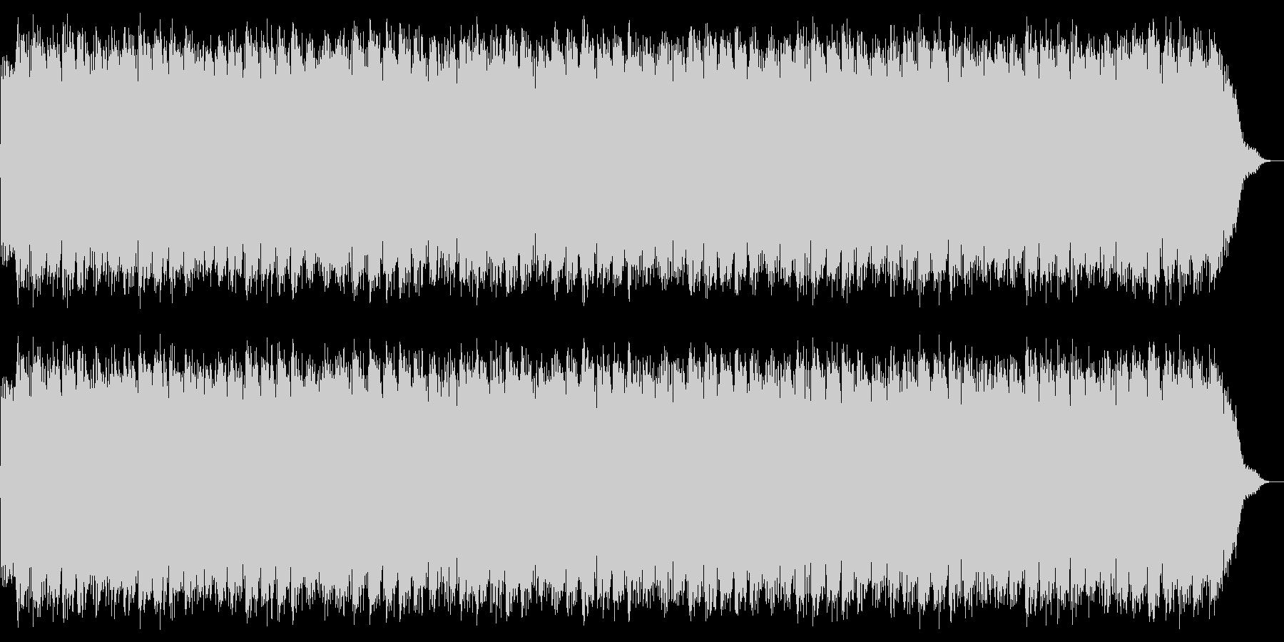 パンチの高速連打のイメージの未再生の波形