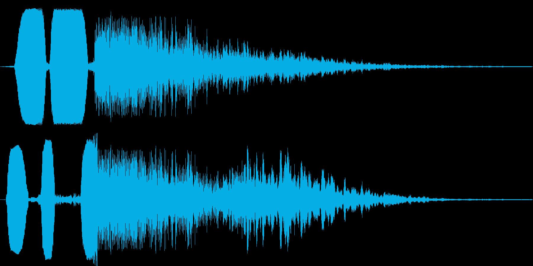 猫ブクブク★コミカルなシーンを演出の再生済みの波形