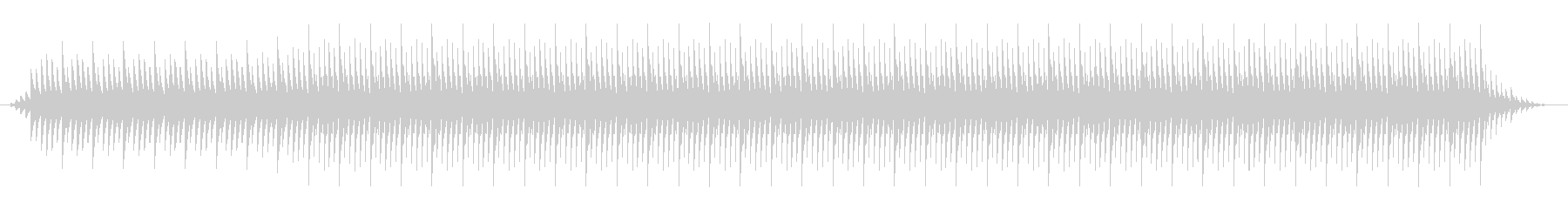 本格的なアフリカBGM(ブルンジ風)の未再生の波形