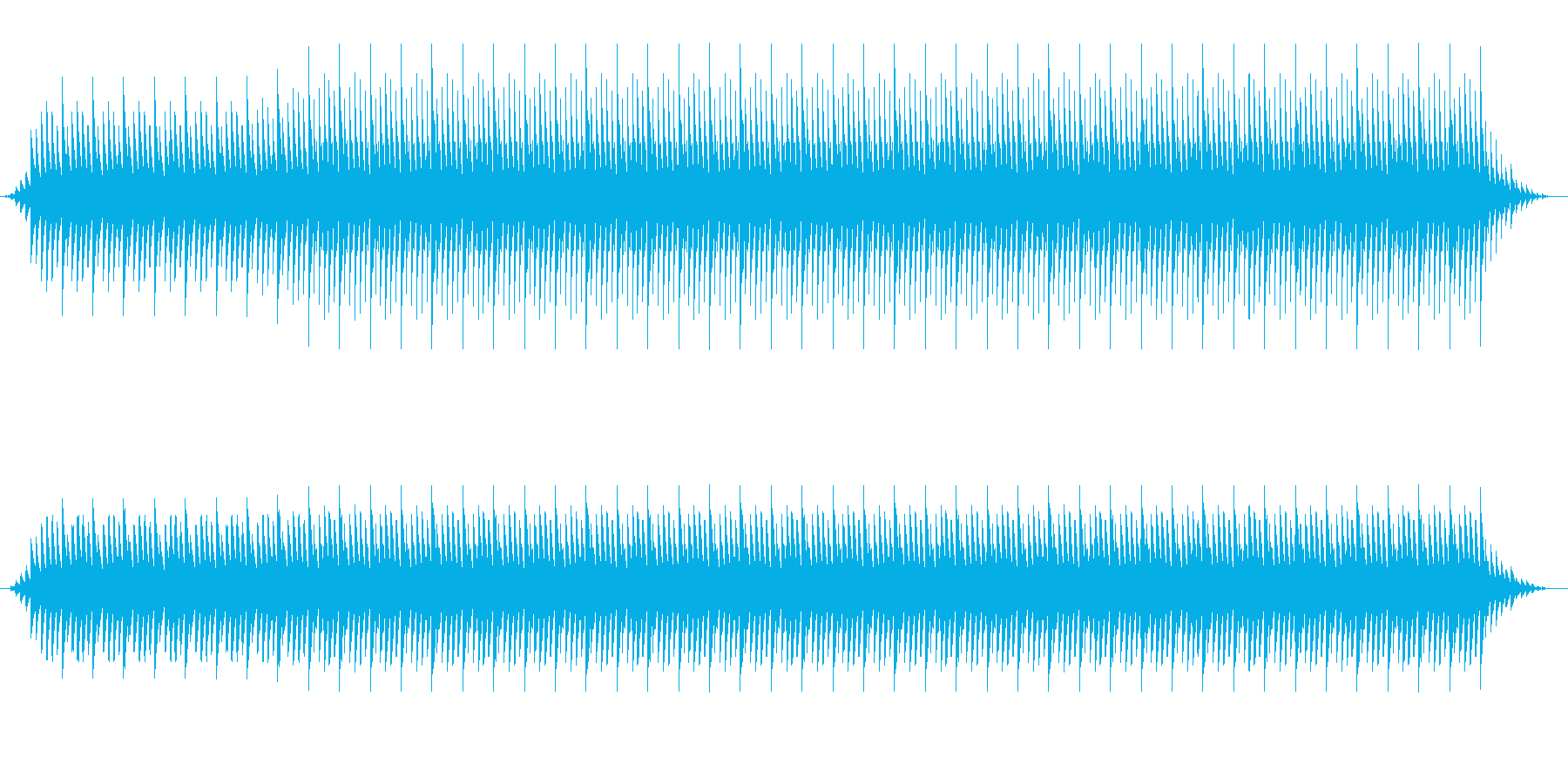 本格的なアフリカBGM(ブルンジ風)の再生済みの波形