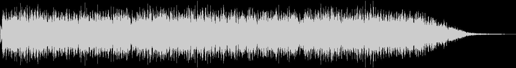 アンニュイなアコギメインのBGMの未再生の波形