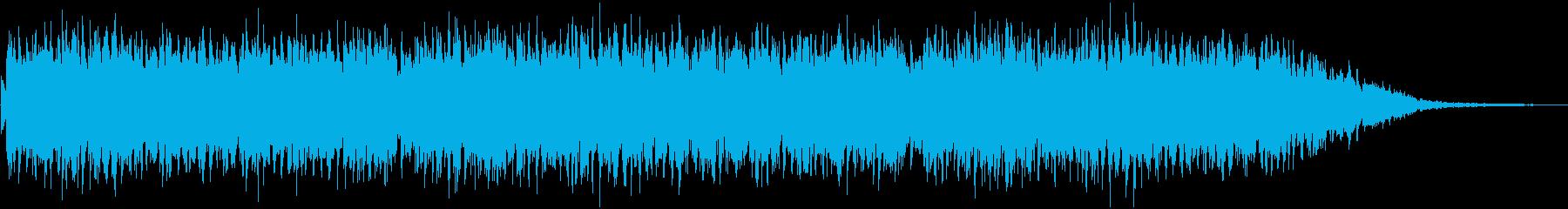 アンニュイなアコギメインのBGMの再生済みの波形