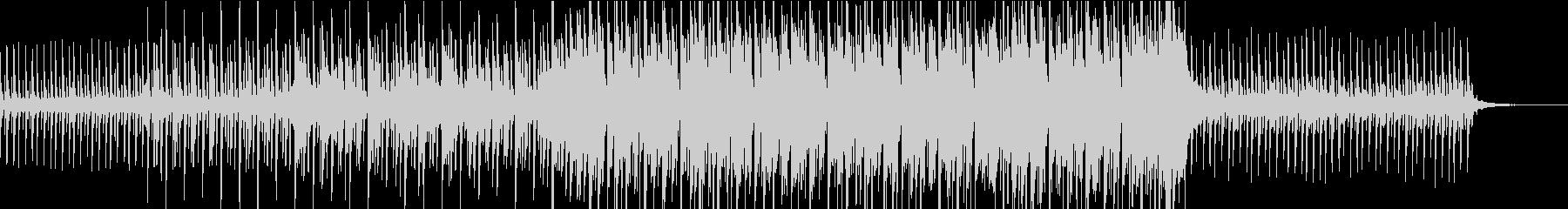 CM向けシンセのフレーズが繰り返される曲の未再生の波形