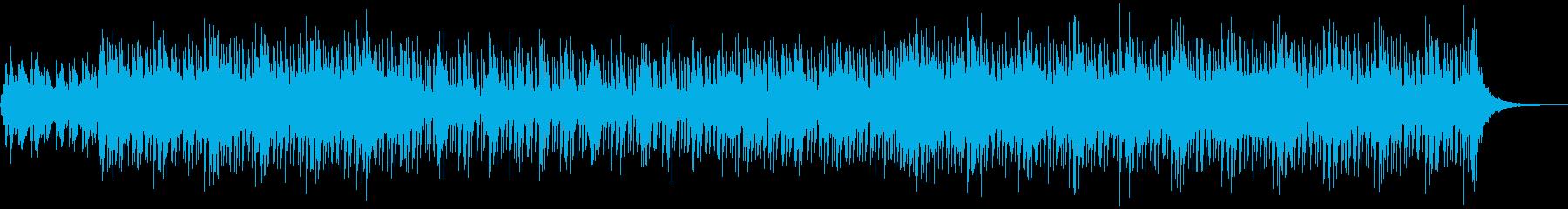 幻想的で怪しい雰囲気のレゲエの再生済みの波形