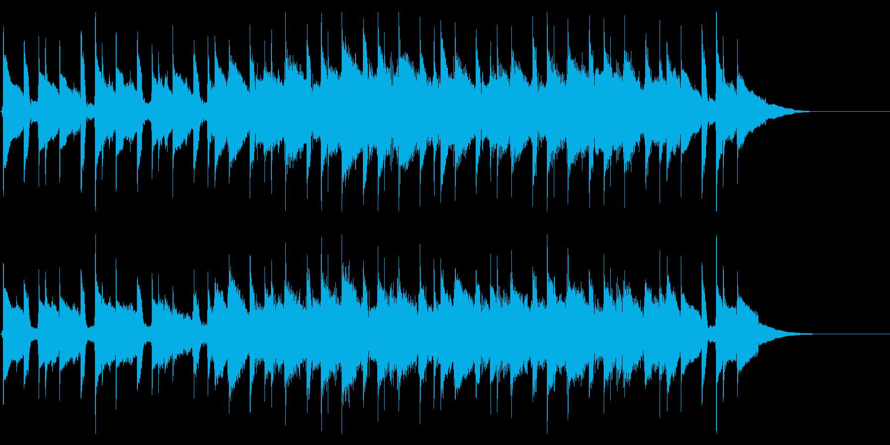 ウクレレEDM企業VP会社紹介ジングルの再生済みの波形