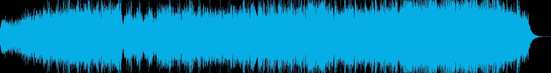 Blissの再生済みの波形