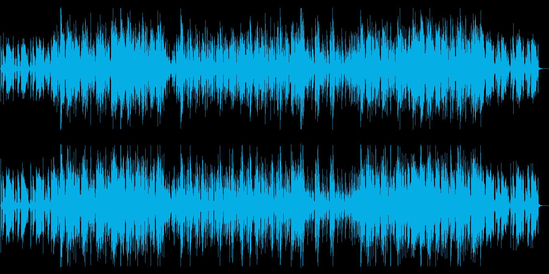 しっとりとした深みのある大人なジャズの再生済みの波形
