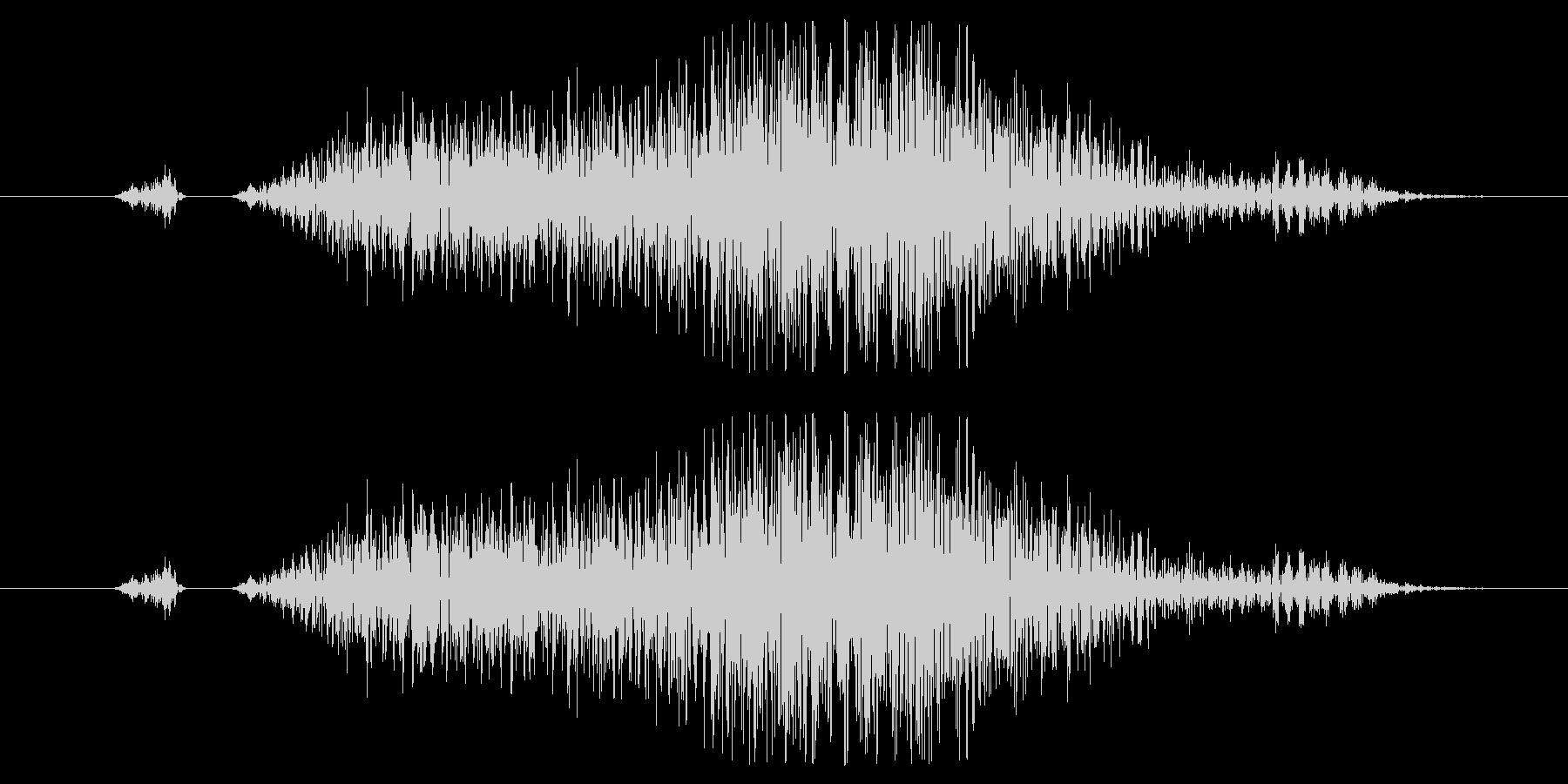 キャンセル、スワイプ効果音01の未再生の波形