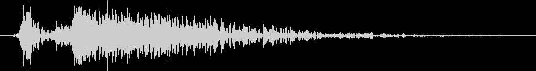 火 スペルファイアキャストラージ03の未再生の波形
