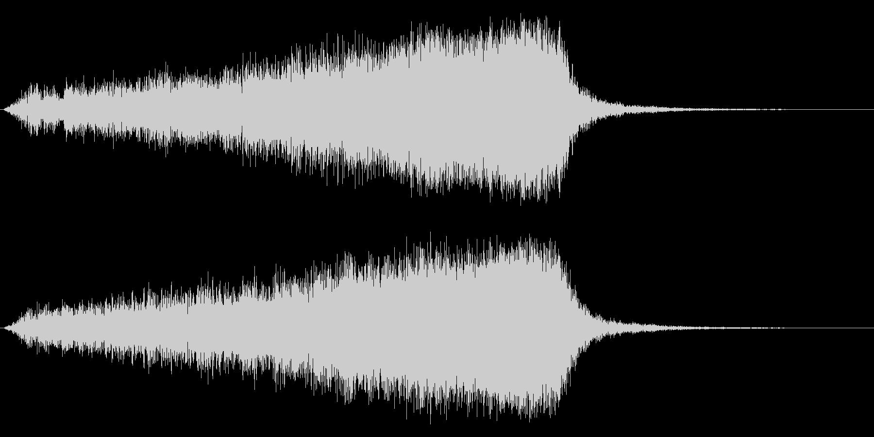 サスペンス インパクト ジングル01の未再生の波形