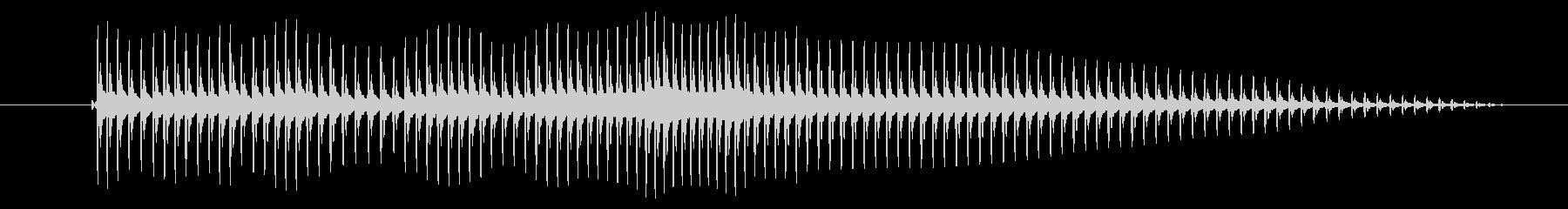 空腹02-3の未再生の波形