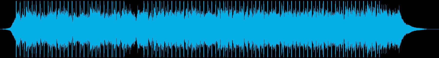 心に強く訴える説明(中)の再生済みの波形
