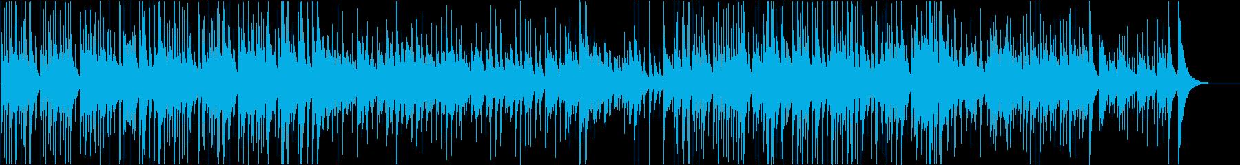 マレット音がキラキラ明るくかわいいBGMの再生済みの波形