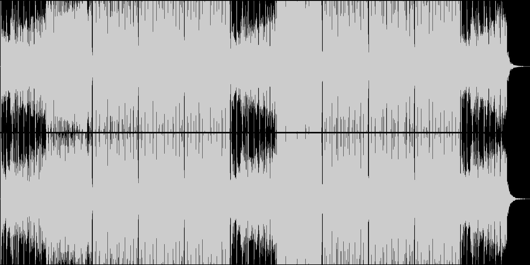 季節感のある和風 Future Bassの未再生の波形