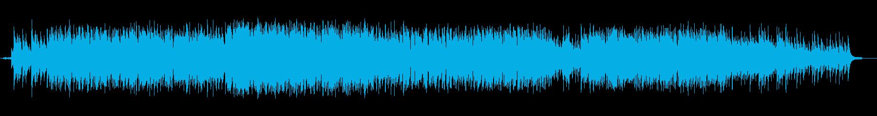 ゆったりとした雰囲気のボサノバの再生済みの波形